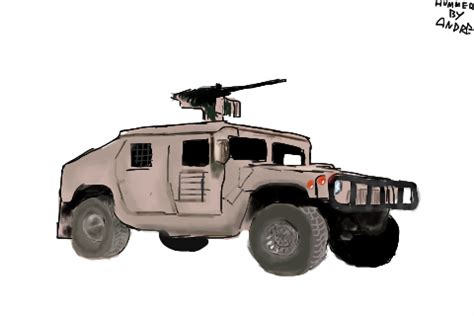 military hummer drawing how to draw military hummer