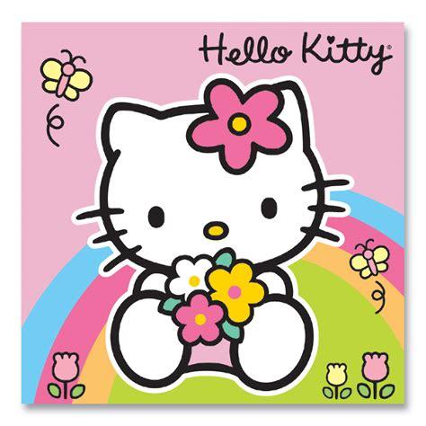 Hello Kitty Rainbow Birthday Card   Party Ark