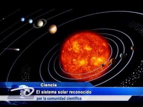 el universo en una 8408131281 el sistema solar reconocido por la comunidad cient 237 fica youtube