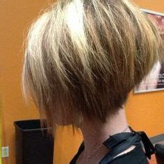 high back bob stacked bob hairstyles back view style them fabulous high