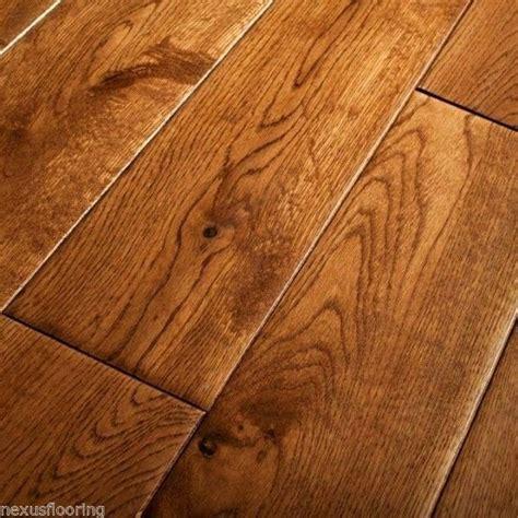 real wood flooring 18mm x 125mm scraped tobacco oak solid flooring real wood wooden floor ebay