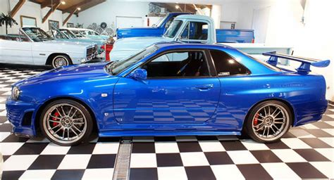 paul walkers nissan skyline paul walker s nissan skyline gt r from fast furious 4 up