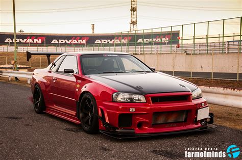 Modified Nissan Skyline R34 1 Tuning
