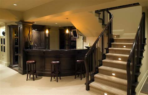 design my basement bloombety bar designs basement stairs with wood basement