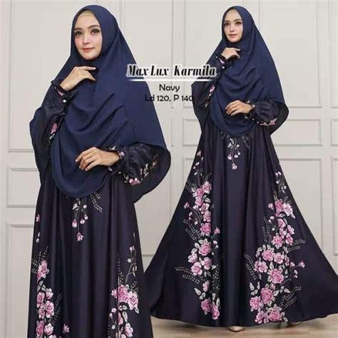 Maxi Kartika Syari gamis syari max karmila model baju muslim jumbo