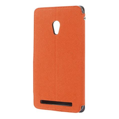 Sarung Flip Cover Casing Idol Asus Zenfone 5 asus zenfone 6 orange roar korea flip