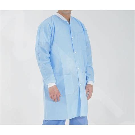 Disposable Coat blue disposable lab coat