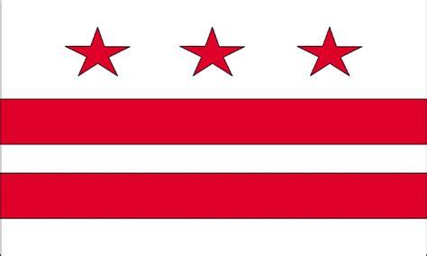 Kaos Washington Dc Flag 2 district of columbia flag usa washington d c flags columbia flag and columbia
