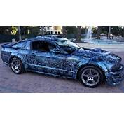 Weird Stuff Wednesday  Custom Paint Jobs Mustang With
