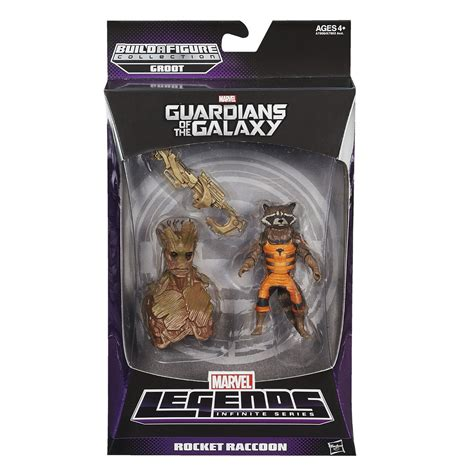 Marvel Legends Guardian Of The Galaxy Series Rocket Mini Groot marvel legends guardians of the galaxy up for pre order marvel news