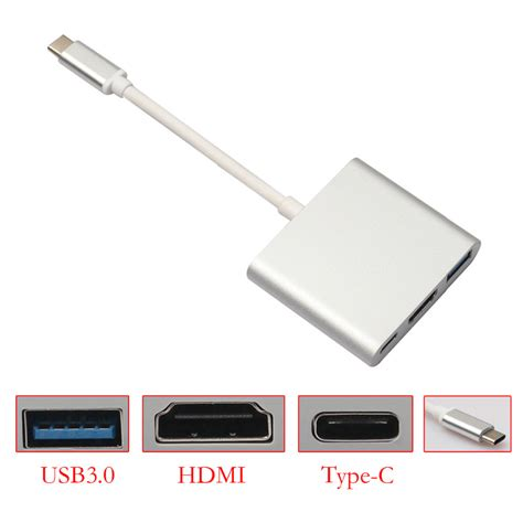 Usb 3 1 Type C To Hdmi Adapter Converter type c usb 3 1 to usb 3 0 hdmi type c converter adapter for mobile phone macbook type c devices