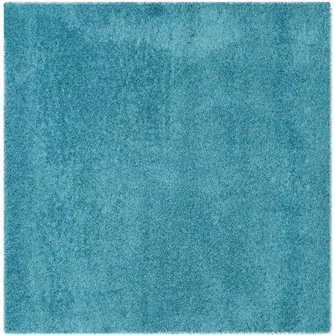 turquoise shag area rug safavieh laguna shag turquoise 6 ft 7 in x 6 ft 7 in square area rug sgl303t 7sq the home