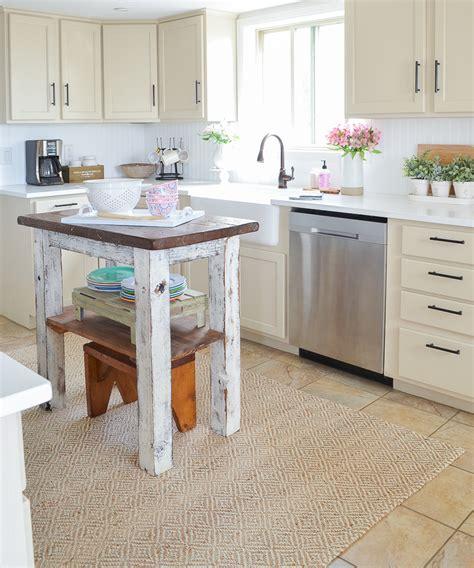 farmhouse style kitchen island 5 vintage nest