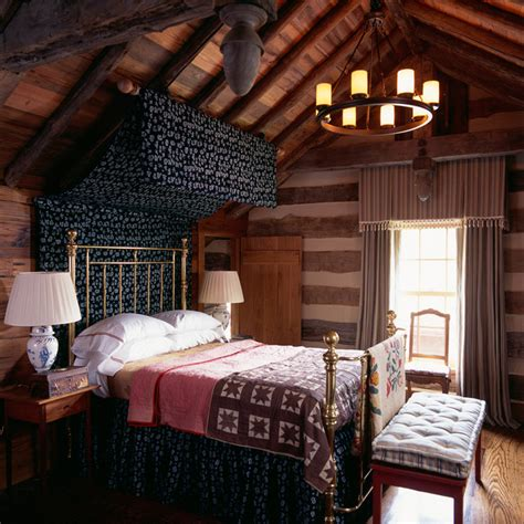 lodge bedroom decor hunting lodge oxford maryland rustic bedroom dc metro by johnson berman