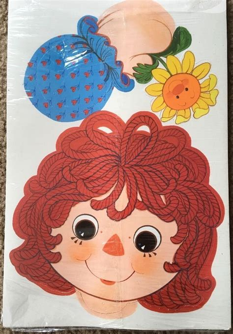 raggedy ann stickers images  pinterest