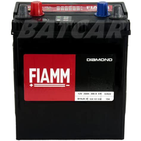 Motorrad Batterie 35ah by Fiamm Diamond 12v 35 Ah 35ah 300a En Links B19jx 35