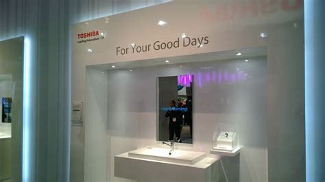 smart tips on where to put mirrors mirrors for dining room toshiba unveils a smart mirror for your kitchen and washroom
