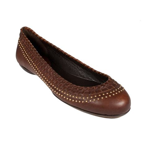 womens flat brown shoes gucci shoes for brown leather flats ggw2701