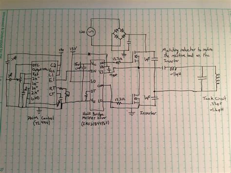 resistor heating circuit project details induction heating