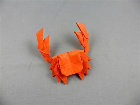 crab origami 26 great origami models for when you re feeling a bit crabby
