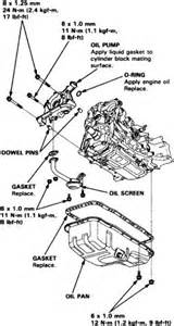 how to replace an pan on all 1996 2000 honda civic
