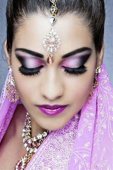 Wedding Hair And Makeup Telford by Makeup Artist Nottingham Asian Saubhaya Makeup