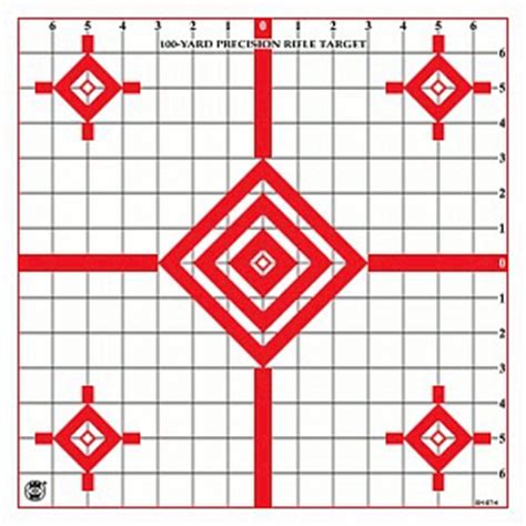 printable rifle sight in targets sighting targets