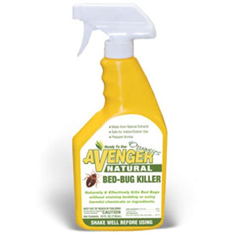 bed bug solution avenger bed bug killer ready to use spray 24 oz