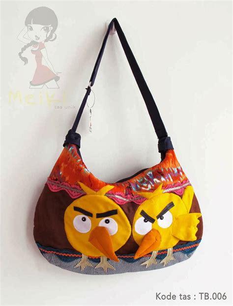 Q2 Tas Wanita Tote Bag Selempang Unik Lucu Kode E530 2 retail meiki tas unik handmade murah keren