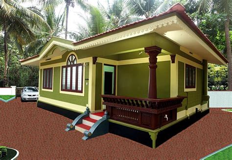 beautiful low cost kerala home design 647 sq ft