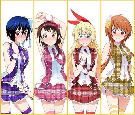Kaos Anime Japan Otaku Nisekoi Kirisaki Chitoge 1 17 best images about nisekoi on chibi