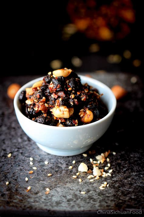 black bean sauce spicy version china sichuan food