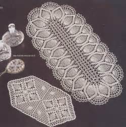 схема салфетки крючком небольшие