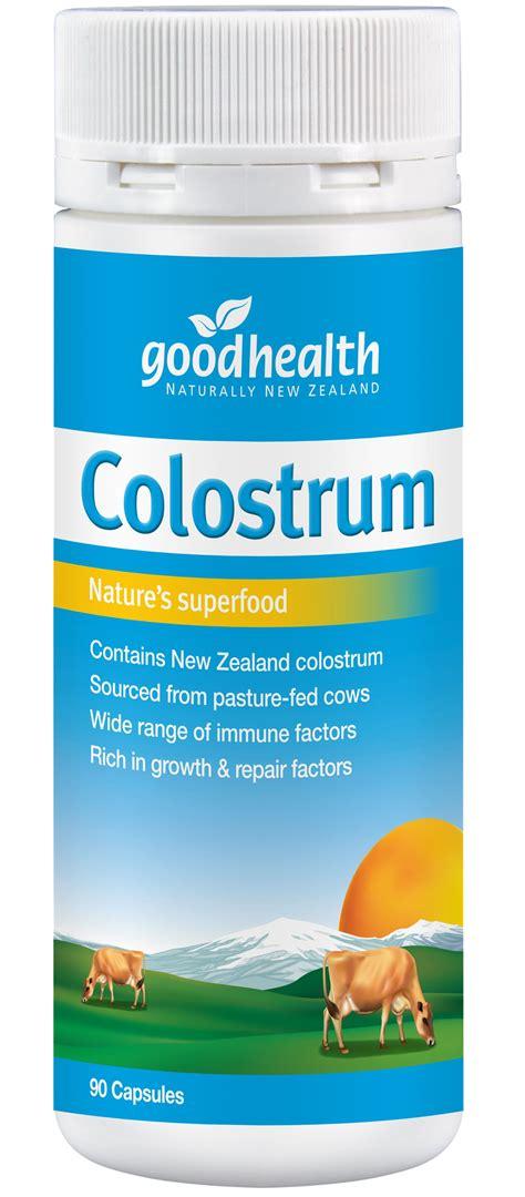 Colostrum Goodhealth colostrum health