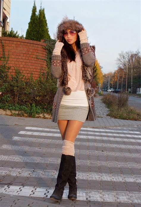 outfits with knee high socks skirt street fashion the guide to fabulous 05 21 14