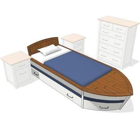 full boat bed speedboat boys room 3d model formfonts 3d models textures