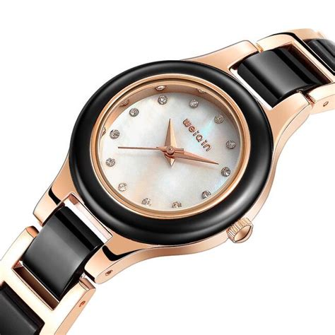 Women's Watch Wristwatch Wrist Watch Gold White Black Watch U1366   eBay