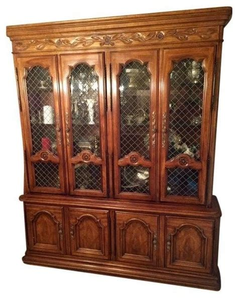 dining room storage cabinets drexel dining room china cabinet storage cabinets by