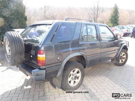 opel frontera 4x4 1995 opel frontera 4x4 2 2 16v car photo and specs