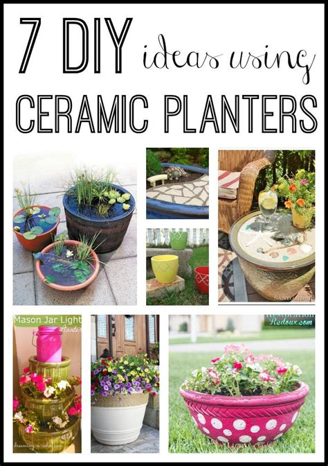 7 diy ceramic planter ideas you never thought of do more for less