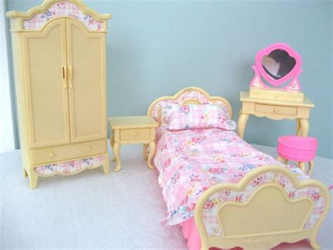barbie bedroom furniture vintage barbie 1996 bedroom set cute pinterest