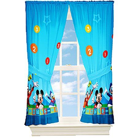 mickey mouse dis mickey mouse kids bedroom curtains walmartcom