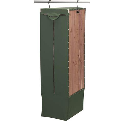 hanging wardrobe cedarstow in garment bags