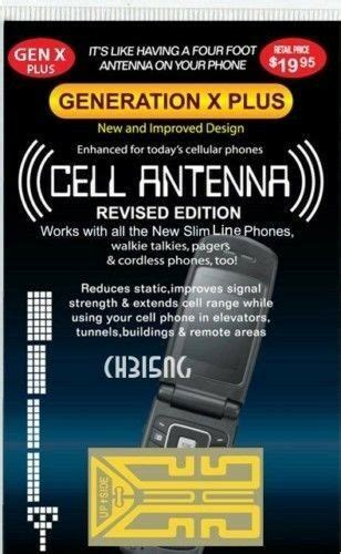 generation  cell phone antenna signal booster