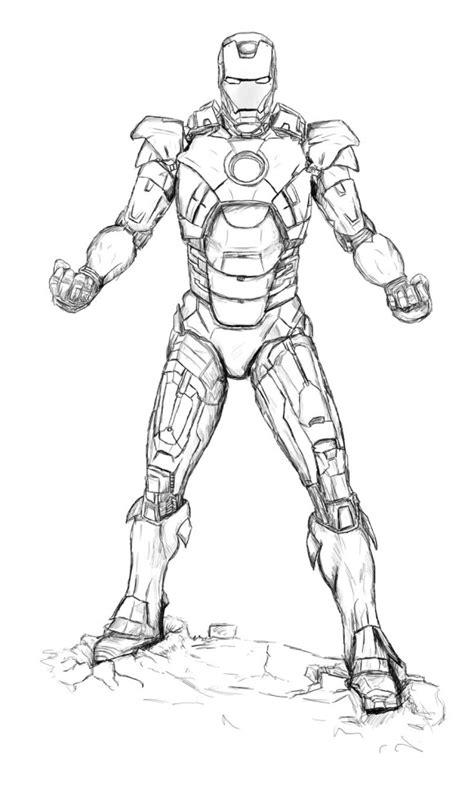 iron man super hero coloring page   Gianfreda.net