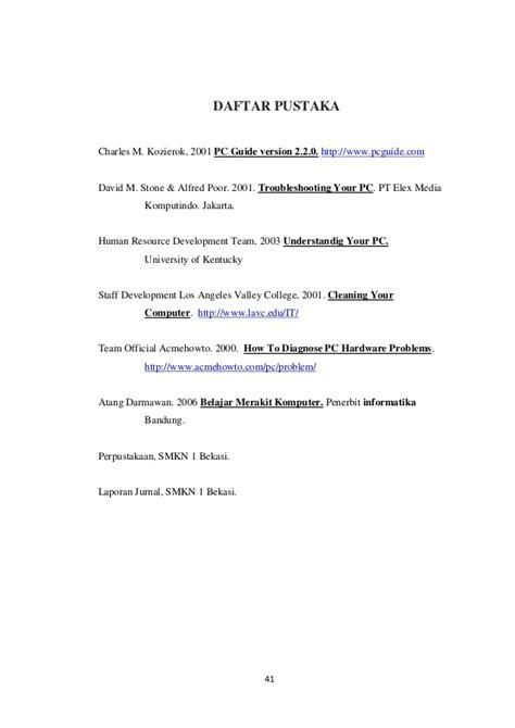 format daftar pustaka laporan contoh daftar pustaka untuk prakerin obtenez livre
