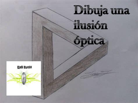 ilusiones opticas faciles de hacer a mano como dibujar una ilusi 243 n optica art louis b p youtube