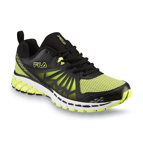 Ardiles Malovic Black Yellow Running Shoes fila s steelstrike energized black yellow running shoe shop your way shopping