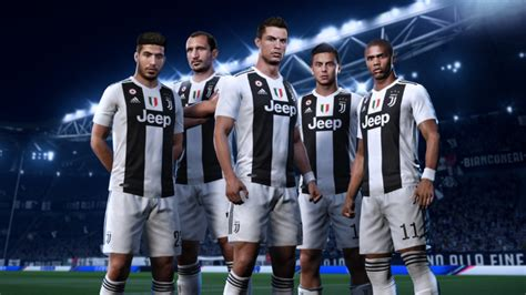 ronaldo juventus international cup ea sports preview of what ronaldo will look like at juventus in fifa 19 sportbible