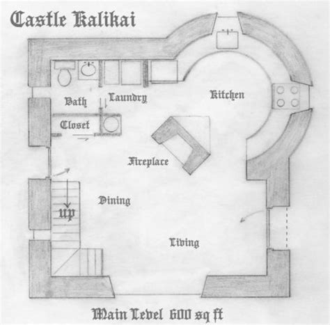 tiny castle house plans castle plan lv1 projects house home pinterest